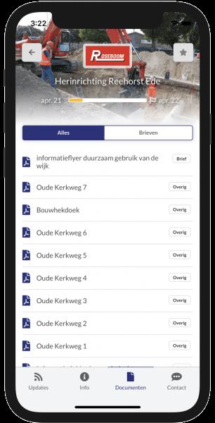Documenten in de Omniom App